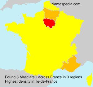 Surname Masciarelli in France