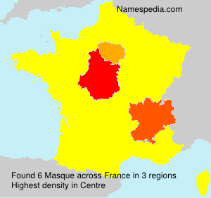Surname Masque in France