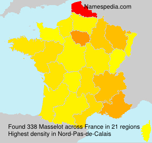 Surname Masselot in France