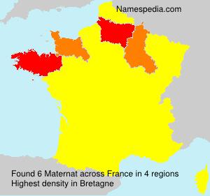 Surname Maternat in France