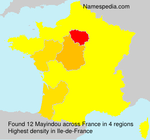 Surname Mayindou in France