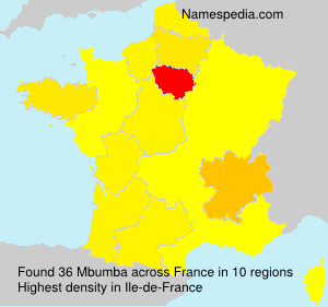 Surname Mbumba in France