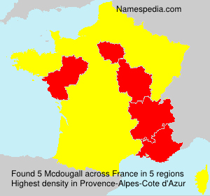 Surname Mcdougall in France