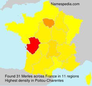 Merles - France
