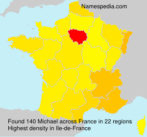 Surname Michael in France