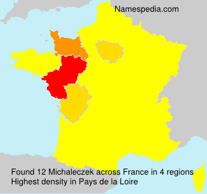 Surname Michaleczek in France