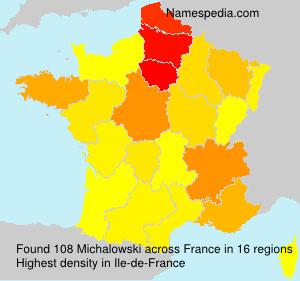 Familiennamen Michalowski - France