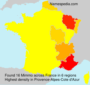 Surname Mimmo in France