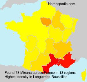 Minana - France