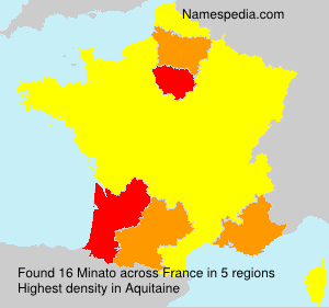 Familiennamen Minato - France