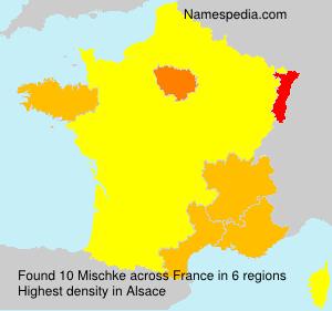 Surname Mischke in France