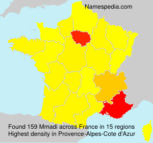 Surname Mmadi in France