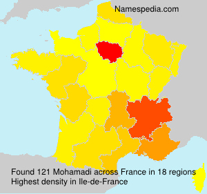 Surname Mohamadi in France