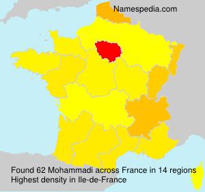 Surname Mohammadi in France