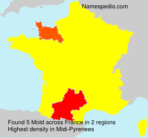 Surname Mold in France