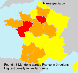 Surname Mondolfo in France