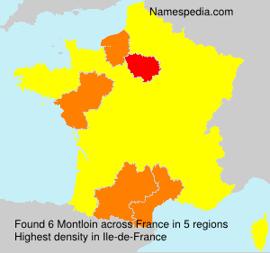 Surname Montloin in France
