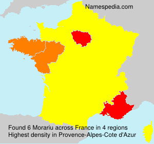 Surname Morariu in France