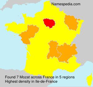 Familiennamen Mozat - France
