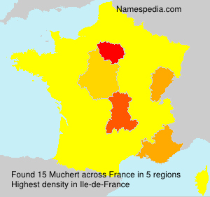 Surname Muchert in France