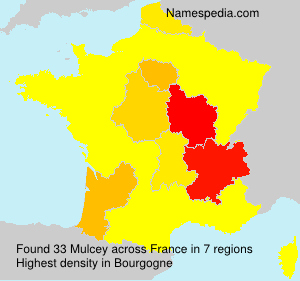Familiennamen Mulcey - France