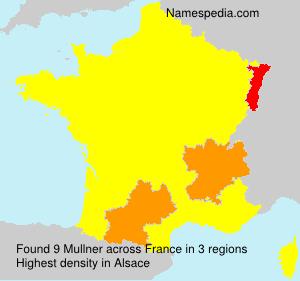 Surname Mullner in France