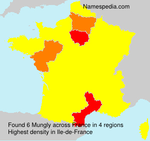 Surname Mungly in France