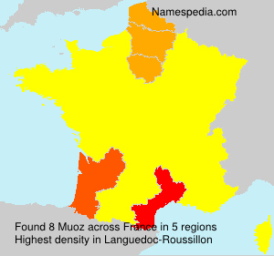 Surname Muoz in France