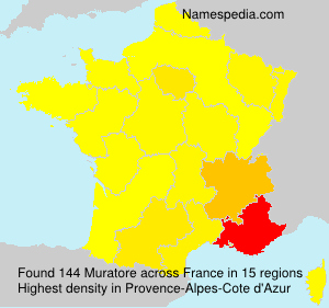 Surname Muratore in France