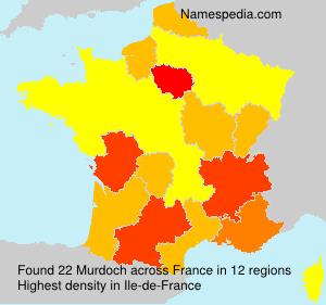 Surname Murdoch in France
