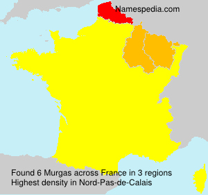 Surname Murgas in France