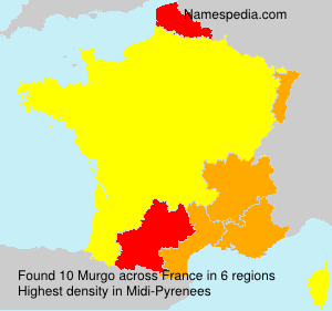 Surname Murgo in France