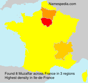 Surname Muzaffar in France