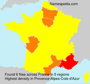 Surname Nae in France