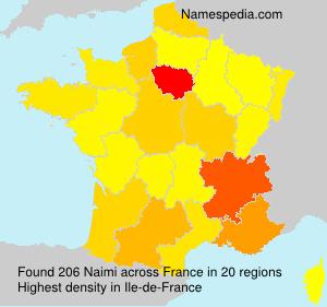 Surname Naimi in France