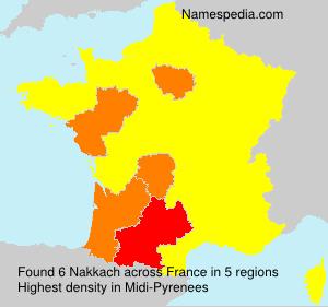 Nakkach - naam, betekenis en oorsprong