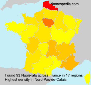 Surname Napierala in France