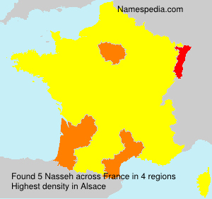 Surname Nasseh in France