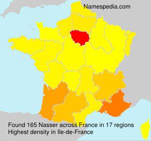 Familiennamen Nasser - France