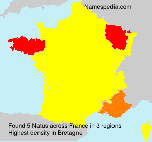 Surname Natus in France