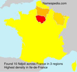 Familiennamen Ndjoli - France