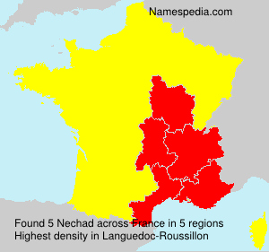 Surname Nechad in France