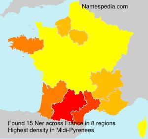 Familiennamen Ner - France