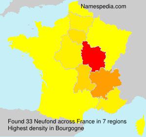 Neufond - France