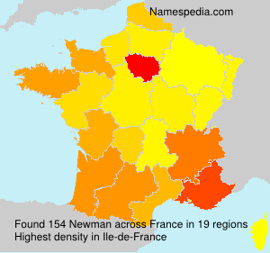 Surname Newman in France