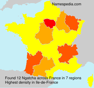 Surname Ngatcha in France