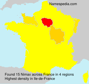 Surname Nimax in France