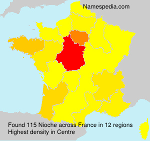 Surname Nioche in France