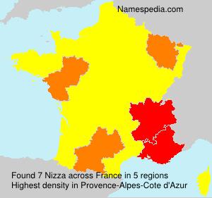 Familiennamen Nizza - France