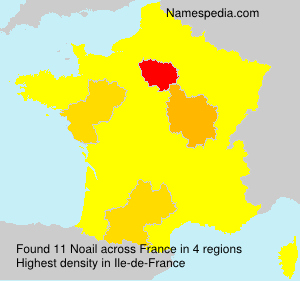 Surname Noail in France